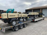 YEAR 2020 DOOSAN 7/41 4 cylinder diesel compressors (choice)