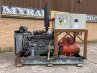 200KVA VOLVO SKID MOUNTED OPEN GENERATOR (ONLY 500 HOURS)