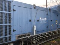 YEAR 2014 1000KVA SDMO SUPER SILENT DIESEL GENERATOR WITH 86 HOURS