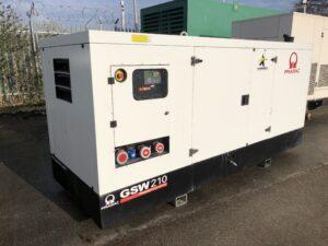 YEAR 2018 210KVA PRAMAC GSW210 RENTAL SPEC GENERATOR WITH PERKINS ENGINE