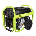 4KVA PRAMAC PX5000 SEMI SILENT PETROL POWERED GENERATOR ON WHEELS