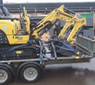 NEW YANMAR SV08 micro diggers now in stock