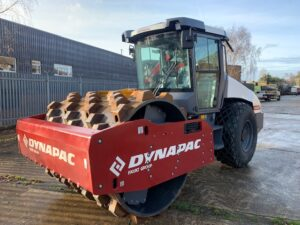 NEW YEAR 2020 DYNAPAC CA3500D with NEW padfoot kit fitted