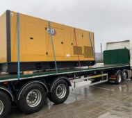 NEW CAT C18 715 kva sold to Cornwall, UK