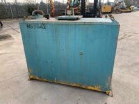 USED Transcube 1500 litres fuel tank with inspection hatch
