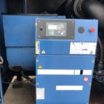 YEAR 2008 550KVA SDMO V550K SILENT DIESEL GENERATOR WITH 3621 HOURS