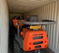 NEW AUSA dumpers loaded for Canary Islands