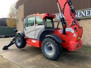 YEAR 2015 MANITOU MT1440 TELEHANDLER (One owner / Full service history)