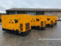2 X YEAR 2017 116KVA JCB G116QS AILENT DIESEL GENERATOR WITH 7575 HOURS EACH