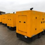 2 X YEAR 2016 116KVA JCB G116QS SILENT DIESEL GENERATORS WITH 7600 HOURS EACH
