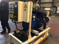 30KVA FG WILSON SKID MOUNTED OPEN SET WITH 362 HOURS