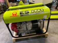 New 7.2kVA ES8000 Pramac Petrol Honda Generator with AVR and long run tank 230V
