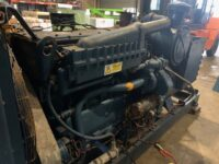 350 kVA CATERPILLAR Diesel Skid Mounted Set (CAT D343 diesel)