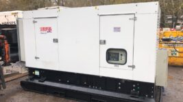 340KVA SUPER SILENT SCORPIAN DIESEL GENERATOR WITH VOLVO ENGINE HOURS 75 ONLY!