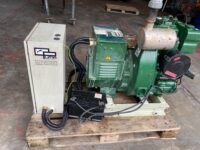6KvA Puma/Lister Open Set. Lister TRI Engine. 1500RPM. ONLY 8 HOURS!