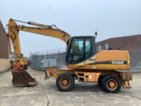YEAR 2003 CASE WX170 Wheeled Excavator (20 tons rubber duck)