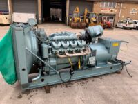 Dawson Keith 275 kva SCANIA V8 diesel skid mounted open set (low hours)