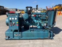 100kVA Wardpower Skid Mounted Open Generator, Ford Engine.
