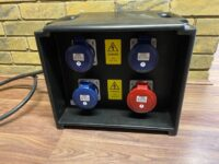 32Amp Distribution Panel and Protection w/2M Cable