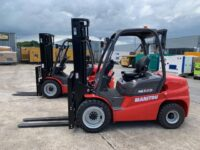 NEW YEAR 2021 MANITOU Mi35D DIESEL FORKLIFTS (CHOICE OF 2)