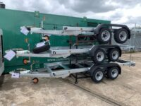 NEW 3500KGS MEREDITH & EYRE TWIN AXLE TRAILER