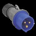 NEW 240V 3 PIN PLUGS – BLUE