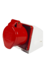 NEW 400V 5 PIN WALL SOCKETS – RED