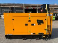NEW JCB G115QS 110 kva silenced set with DISTRO PANEL fitted