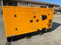 YEAR 2016 JCB 66KVA G66QS SILENT DIESEL GENERATOR 3580 HOURS EMISSIONS COMPLIANT