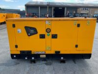 YEAR 2018 JCB G45QS 45 kva silenced set (ONLY 84 hours)