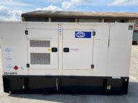 110KVA FGWILSON SILENT DIESEL GENERATOR WITH PERKINS ENGINE XD100P4 2014 3789 HOURS