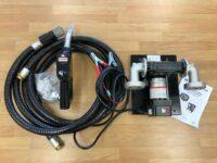 2 x New Transcube 12v Diesel Fuel Pumps C/W 4M Hose 3/4″ & Trigger Nozzle 45 L Per Min